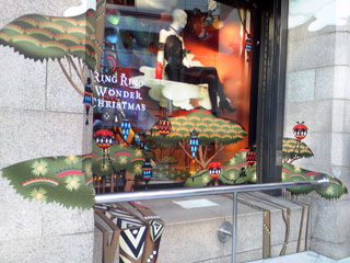 伊勢丹新宿店 クリスマスディスプレイ2010
