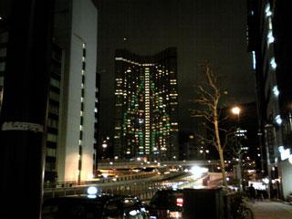グランドプリンスホテル赤坂のクリスマスツリー